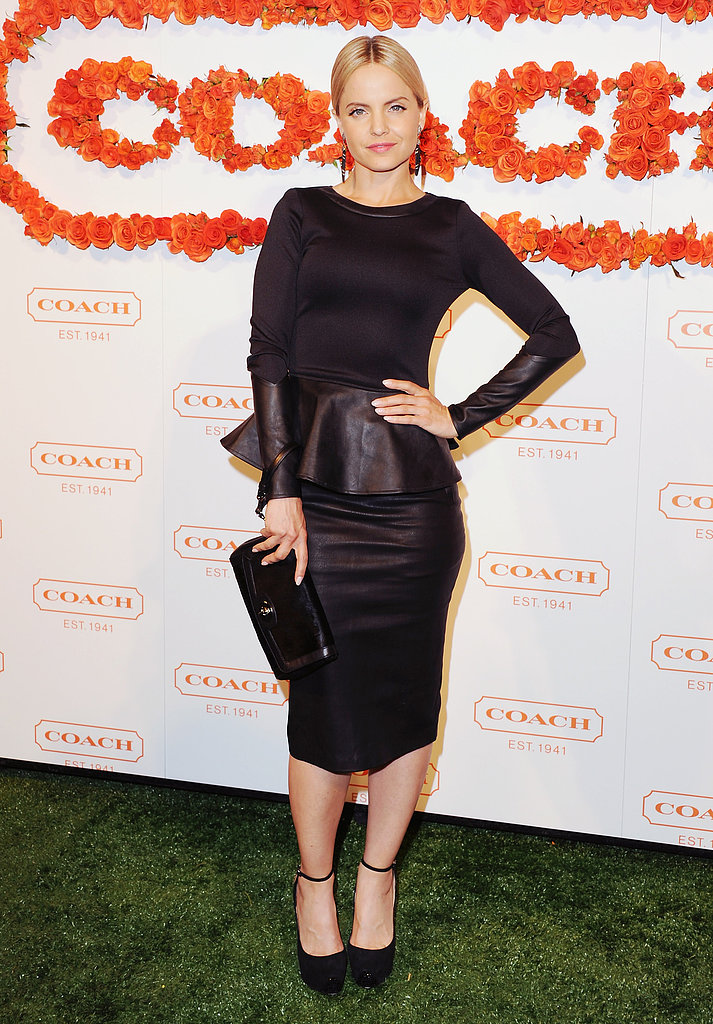 Mena Suvari at Coach's third annual Evening of Cocktails and Shopping in Santa Monica.