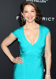 Ashley Judd was cast in Divergent as the mother of Shailene Woodley's character.
