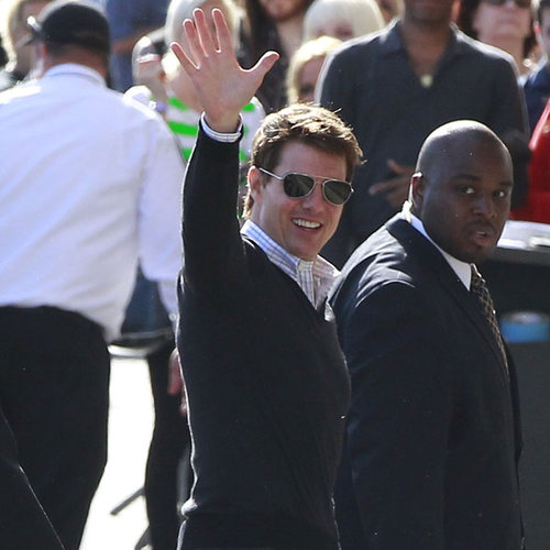 Tom Cruise on Jimmy Kimmel Live April 2013