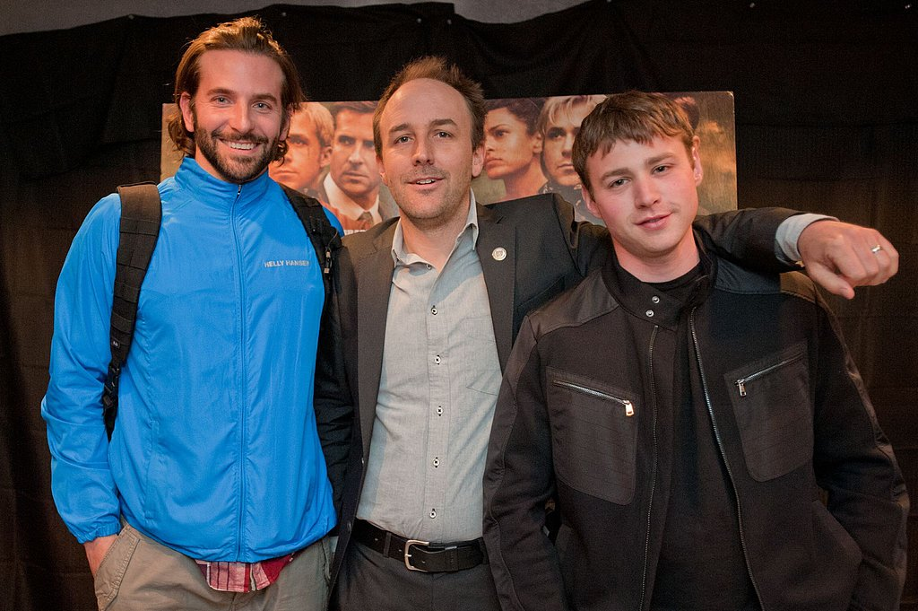 Bradley Cooper attended a The Place Beyond the Pines premiere in the upstate New York city of Schenectady with Derek Cianfrance and Emory Cohen.