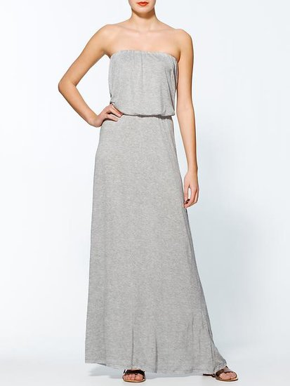 The answer to what to wear on all your lazy days without actually looking lazy is this laid-back Velvet by Graham & Spencer Petra maxi dress ($130, originally $169).