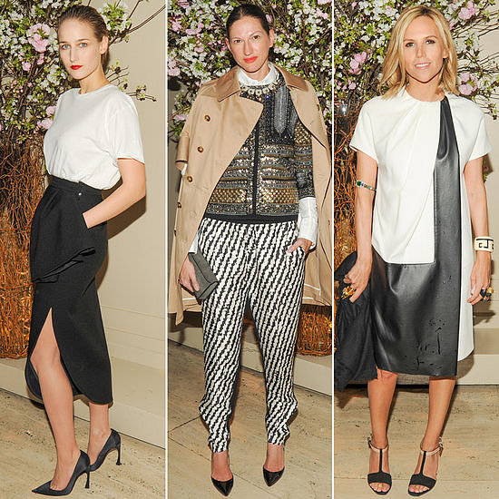 Only the chicest set came out to the New Museum benefit in New York City.