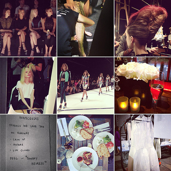 POPSUGAR Diary: Fashion Week Edition!