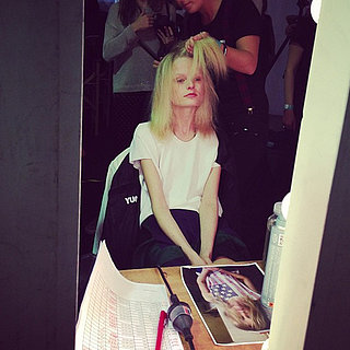 Backstage Candid Editors' Pictures From 2013 MBFWA