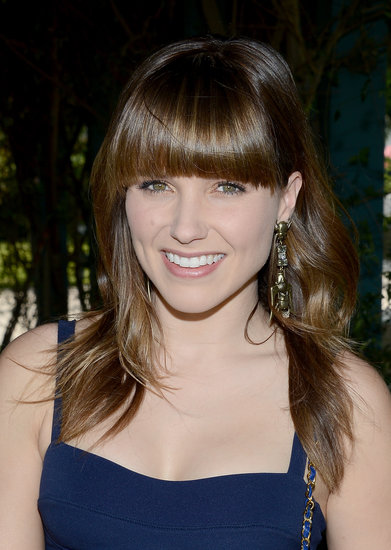 Sophia Bush flashed a smile.