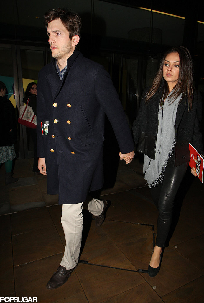 Mila and Ashton Double-Date at the Opera With Channing and Jenna