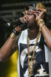 2 Chainz entertained crowds with his tunes — and funky sunglasses.