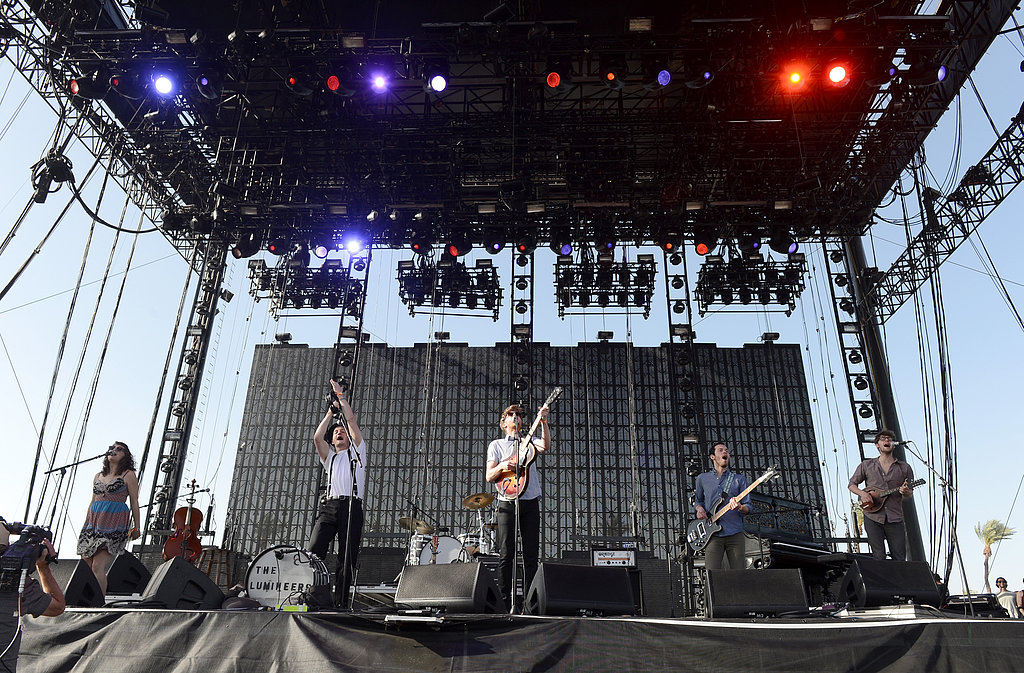 The Lumineers showed off their talents when they performed Sunday during the day.