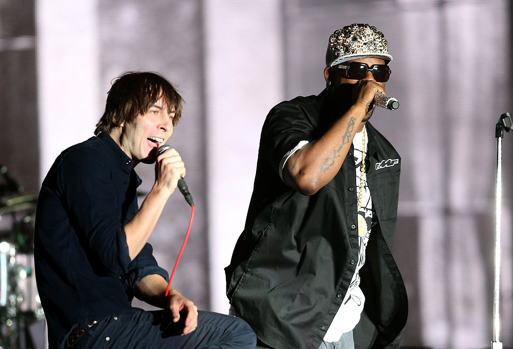 Phoenix was joined by a surprise guest on Saturday — R. Kelly.