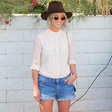 Julianne Hough glowed at the Shop Bazaar Coachella party on Friday during Coachella's first weekend.  Source: Instagram user popsugar