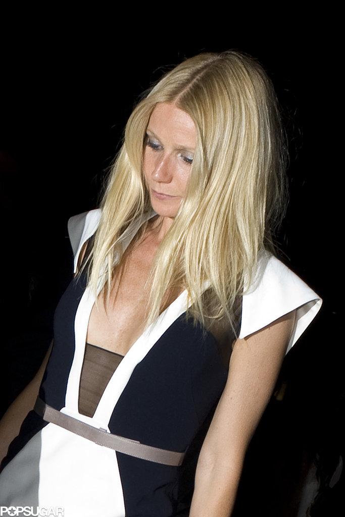 Gwyneth Paltrow Puts a Stylish Foot Forward in France