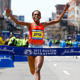 Boston Marathon Women's 2013 Winner