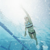 Swimming Interval Training Workout