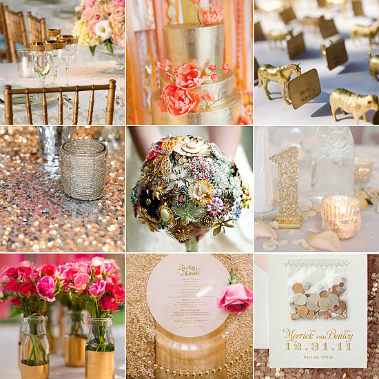 Gold Wedding Decor Ideas