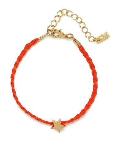 Red Star Braid Bracelet