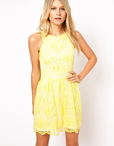 Love Skater Dress In Lace