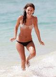 Rachel Bilson wore a bikini in Barbados.
