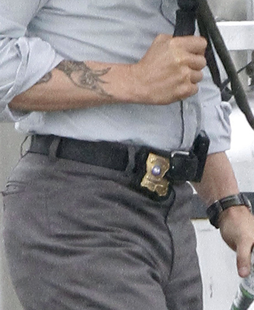 Matthew mcconaughey on set of true detectives pictures for True detective tattoo
