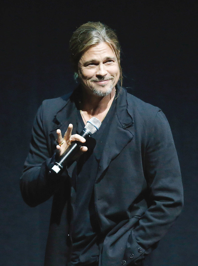 "Brad Pitt Says He Made World War Z For His ""Boys"" at CinemaCon"