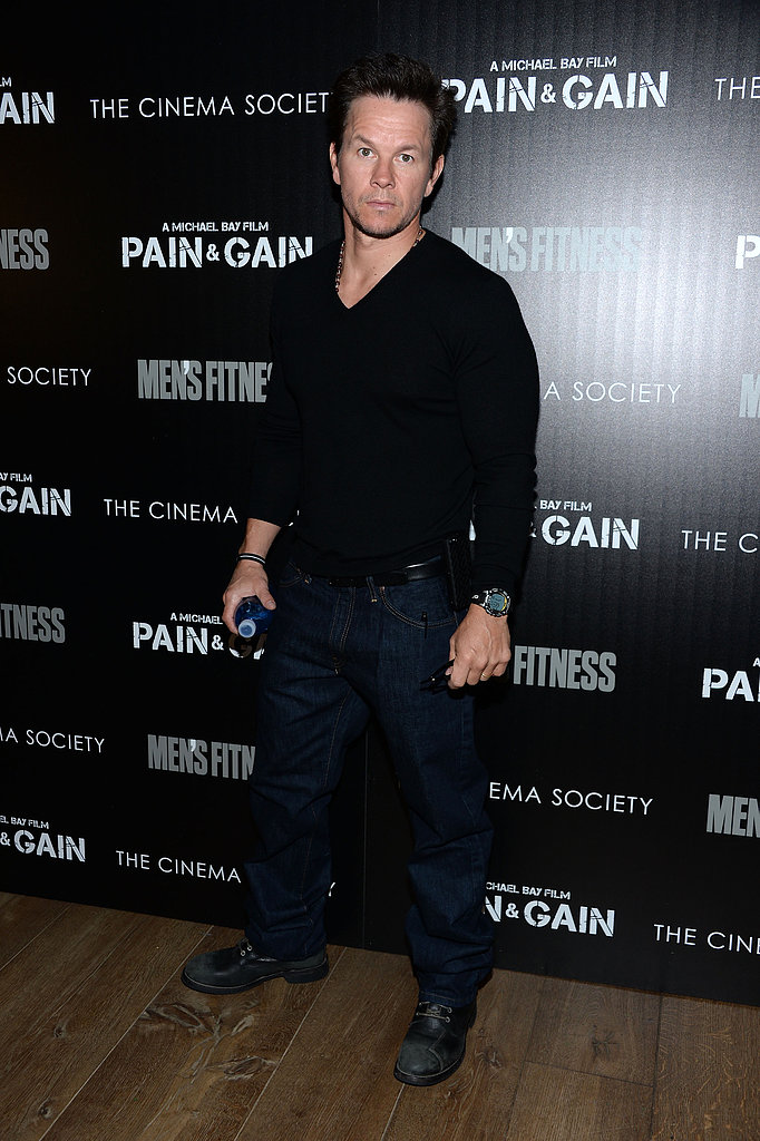 Mark Wahlberg Brings Pain & Gain to NYC and Addresses Boston Bombings