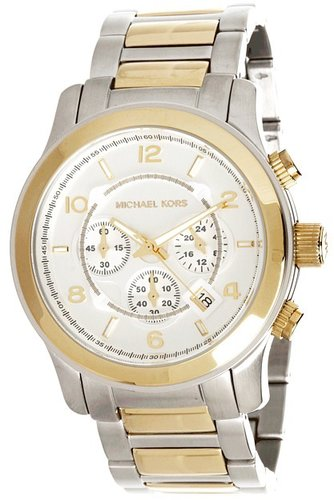 Michael Kors - MK8283 - Runway Chronograph (Gold /Silver) - Jewelry
