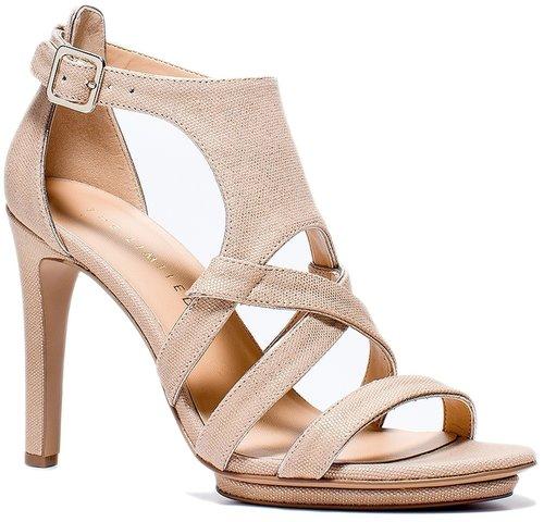 High-Heel Cage Sandals