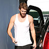 Liam Hemsworth Going to Gym in LA Pictures