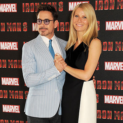 Gwyneth Paltrow and Robert Downey Jr Promote Iron Man 3