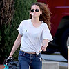 Kristen Stewart Smoking a Cigarette in LA