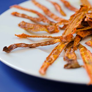 Baked Carrot Chips
