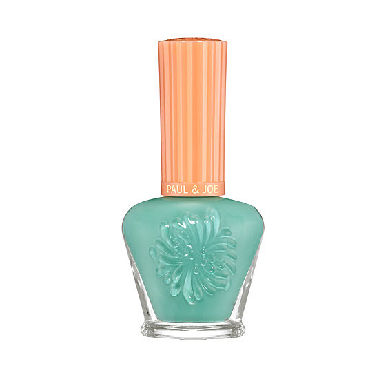 Paul & Joe Nail Enamel in Caribbean ($14), available soon, is a sun-drenched turquoise with a feeling of warmth to it.
