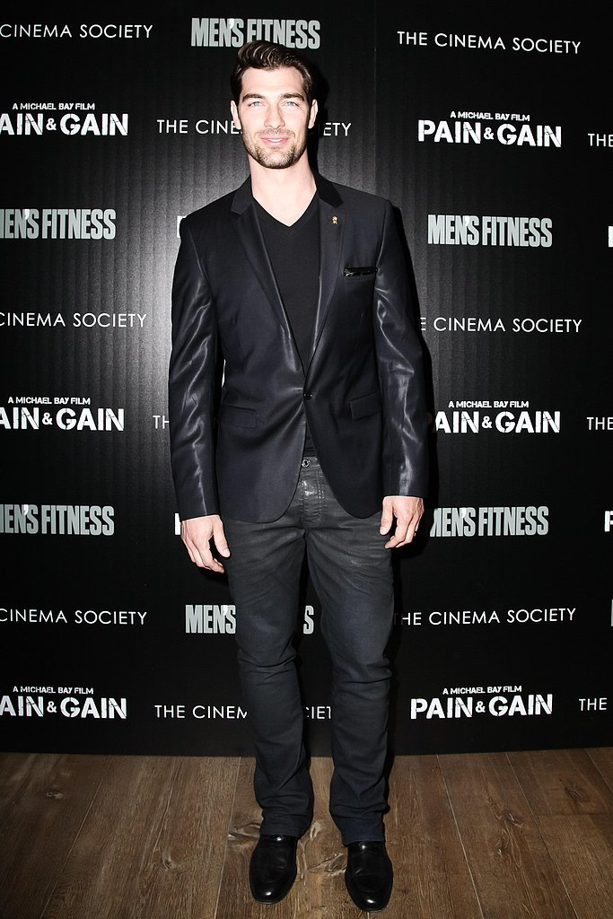 Cory Bond at the Pain and Gain afterparty in New York. Source: Matteo Prandoni/BFAnyc.com