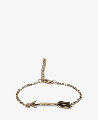 FOREVER 21 Curved Arrow Bracelet