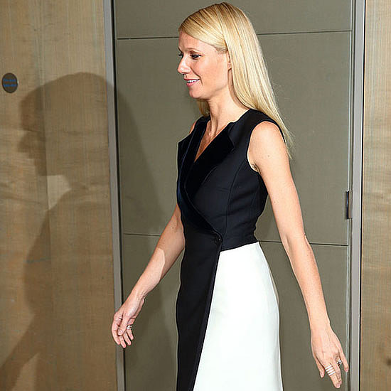 Gwyneth Paltrow Takes On the Black and White Trend in London