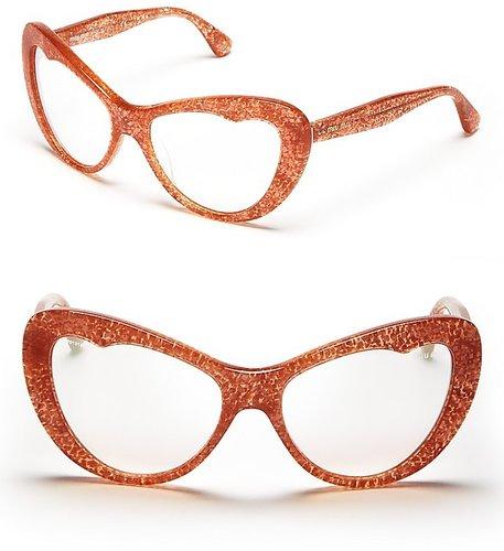 Miu Miu Top Apple Cat Eye Sunglasses