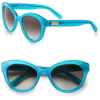 Kate Spade New York Cordelia Cat's-Eye Acetate Sunglasses