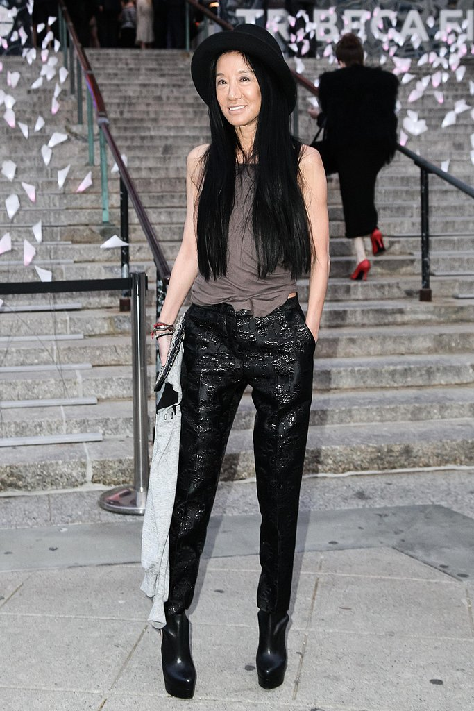 Vera Wang at the Tribeca Film Festival Vanity Fair party. Source: Matteo Prandoni/BFAnyc.com