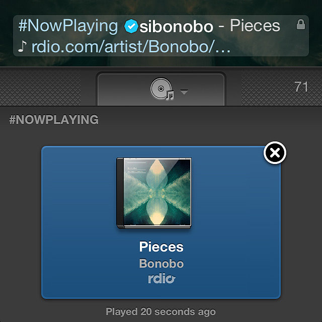 Twitter #Music Is Now Playing on an iPhone Near You