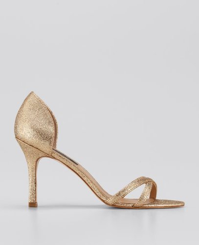 Stephanie d'Orsay Glitter Sandals