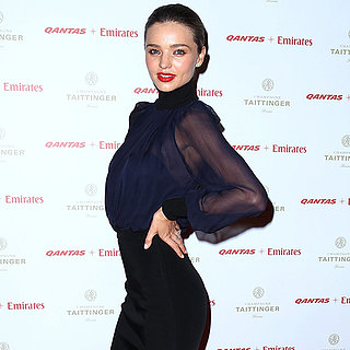 Miranda Kerr at Qantas Party | Video