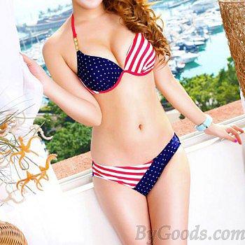 Sexy Stars Stripes USA Flag Bikini & Swimsuit