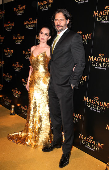 Joe Manganiello and Caroline Correa debuted the new Magnum ice cream flavor at the Tribeca Film Festival.
