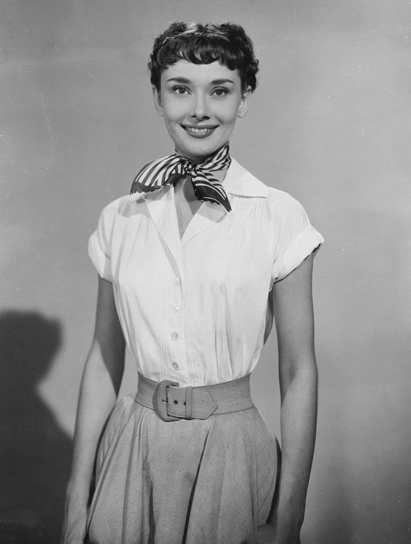 Audrey Heburn in Roman Holiday