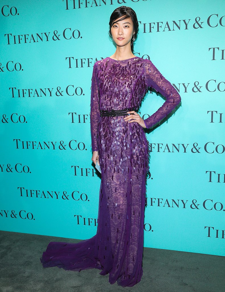 Ji Hye Park at Tiffany & Co.'s Blue Book Ball in New York. Source: Will Ragozzino/BFAnyc.com