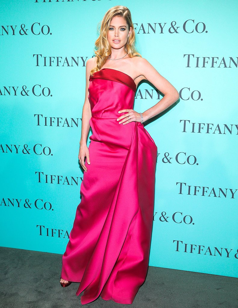Doutzen Kroes at Tiffany & Co.'s Blue Book Ball in New York. Source: Will Ragozzino/BFAnyc.com