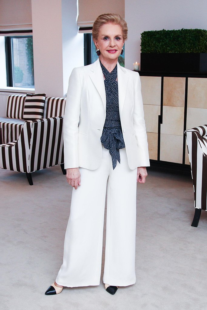 Carolina Herrera at Nicky Haslam's book celebration in New York. Source: Paul Porter/BFAnyc.com