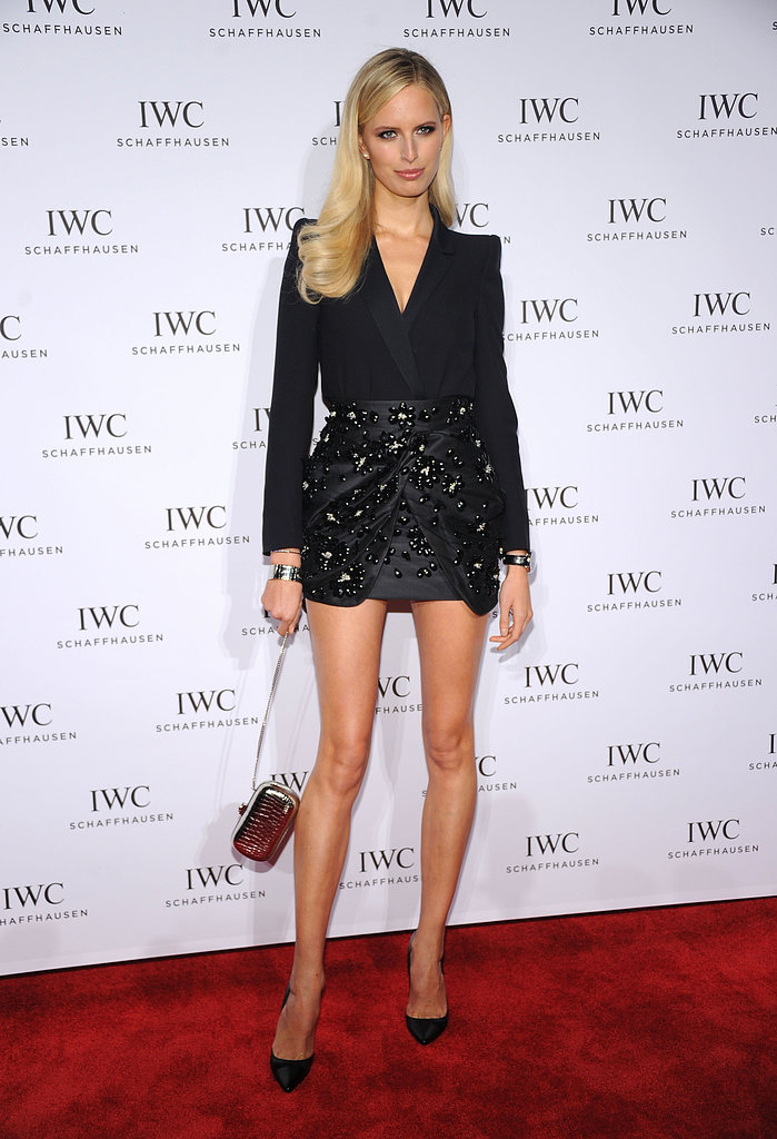 Karolina Kurkova wore Fall 2013 Blumarine at the For the Love of Cinema event in New York.