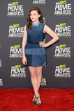 Chloë Grace Moretz wore Louis Vuitton at the MTV Movie Awards in Los Angeles.