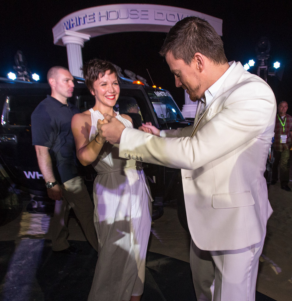 Channing Lets Loose on the Dance Floor With Jamie and Maggie in Cancun