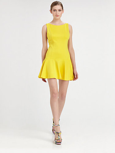 Alice + Olivia Drop Waist Dress